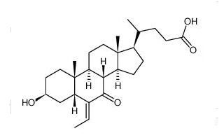 (E)-3α-hydroxy-6-ethylidene-7-keto-5β-cholan-24-oic acid