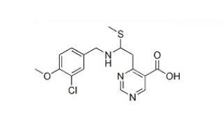 4-(3-Chloro-4-Methoxy-benzylaMino)-2-Methylsulfanyl-pyriMidine-5-carboxylic acid ethyl ester